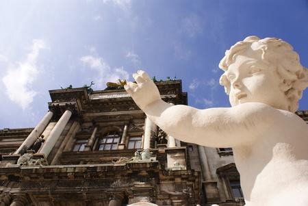 sculpture in Vienna (Austria)  photo
