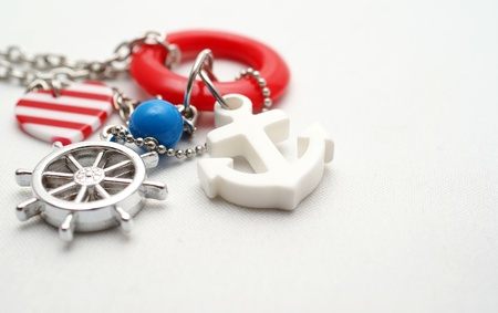 neckless: Neckless with seaman objects