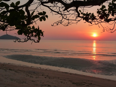 Thailand - Beach sunset