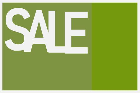Inscription Spring sale in white and light green tones.