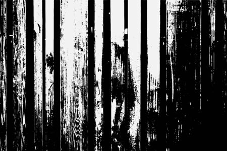 Abstract black white image with long and short intermittent lines made by brush. A monochrome image drawn by hand. Dirty shabby smears of black paint.