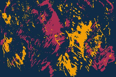 Abstract multicolored image, made with a brush and paints. Handmade. You can use it as an interesting background.
