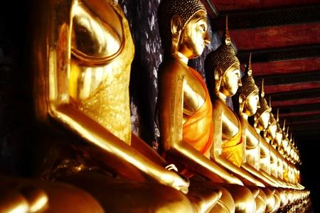 godhead: pattern buddha statue