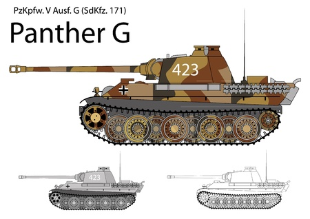 German WW2 Panther G
