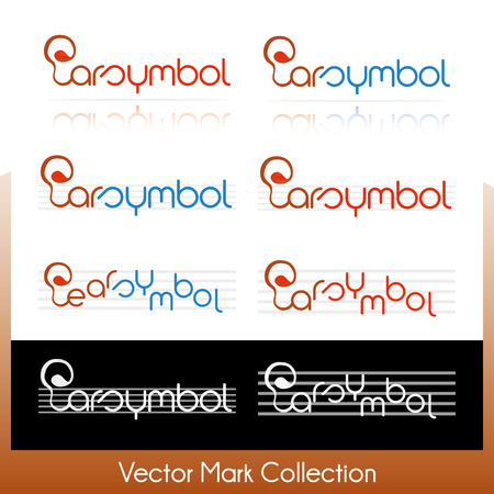 Vector symbol collection related to music and musical notes Stock Vector - 22487461