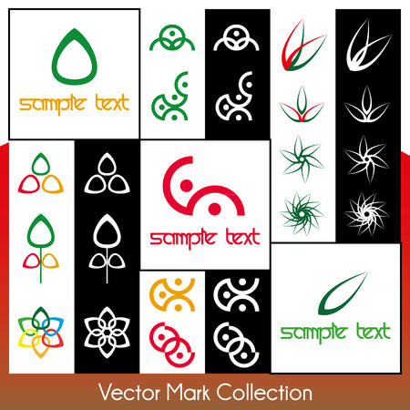 Vector symbol collection Stock Vector - 22487453