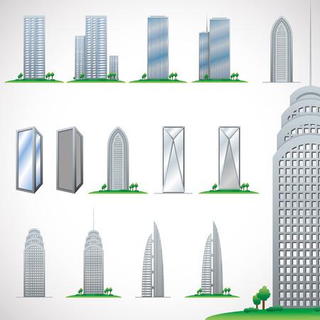 Skyscrapers Illustration