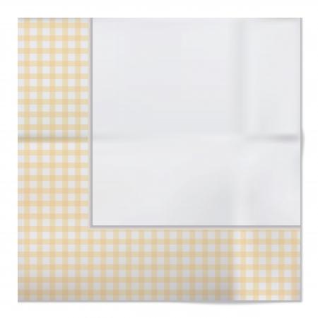 Vector napkin