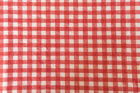 White red patterned fabric