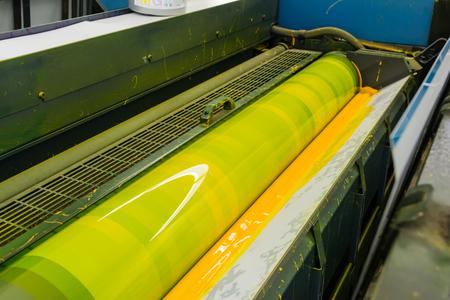 Cilindro offset CMYK Stampa Stampante Industria di stampa Nero Magenta Blu giallo
