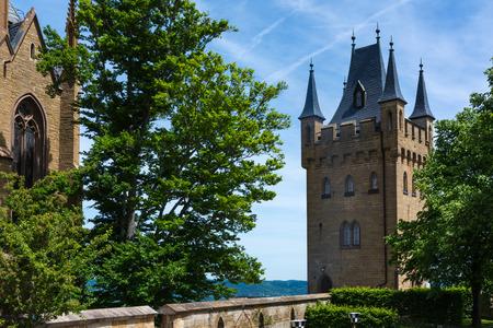 Burg Hohenzollern German European Castle Architecture Ancient Destination Travel Famous Swabia Features Landscape Photo