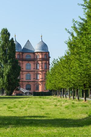 musik: Gottesaue Palace Castle Schloss in Karlsruhe Musik Hochschule University Architecture Building Exterior