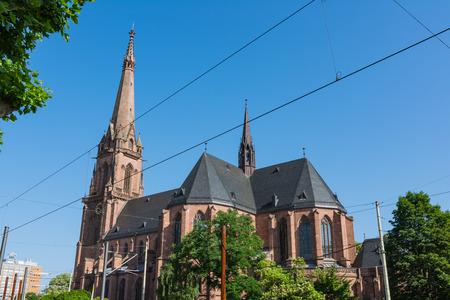 Karlsruhe Church Cathedral St Bernhard Religious Architecture Bernhardskirche Catholic