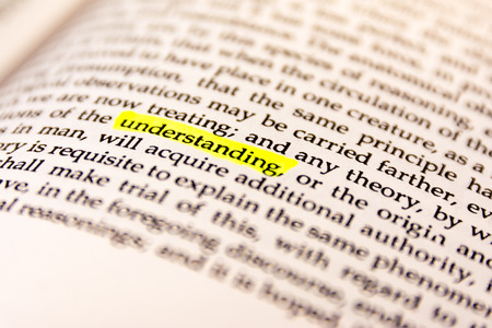Book Highlighted Word Yellow Fluorescent Marker Paper Old Keyword Understanding