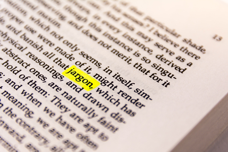 Book Highlighted Word Yellow Fluorescent Marker Paper Old Keyword Jargon