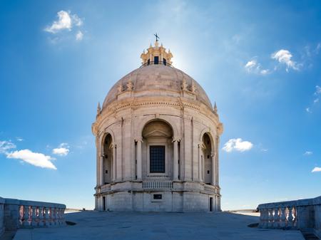 Panteao Nacional Lisbon Portugal Cathedral Alfama Monument Landmark Destination Religious Architecture