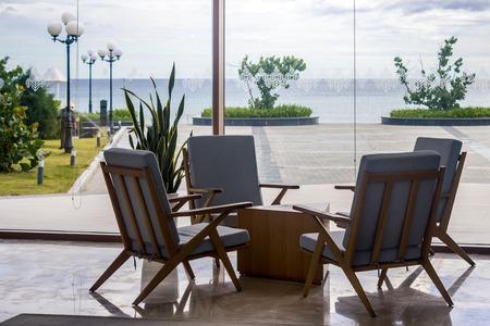 Generic Tropical Hotel Lobby Light Contemporary Vacation