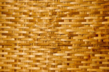 trabajo manual: Textura de madera de bambú, trabajo hecho a mano de estilo tailandés Foto de archivo