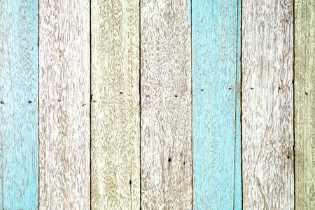 Pastel color wood planks texture background 写真素材