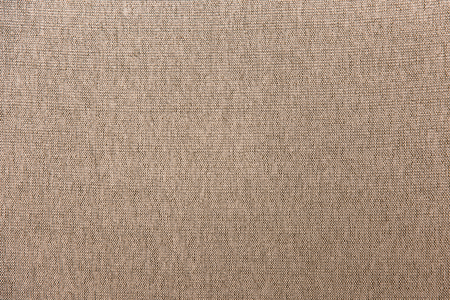 Close-up of Brown Cloth Fabric Texture Background