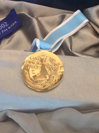gold: 1980 lake placid mens hockey gold medal