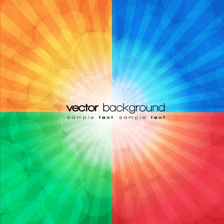 Colorful abstract background  Stock Vector - 11114840