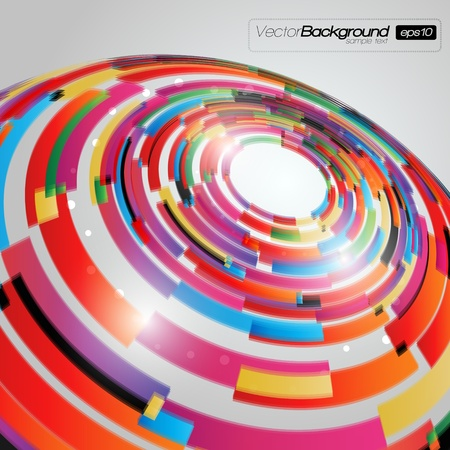 EPS10 Colorful Abstract Vector Background Vector