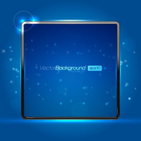 EPS10 Blue Abstract Screen Vector Design Background Vector