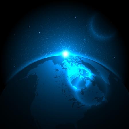 EPS10 Vector Space Hintergrund Vektorgrafik