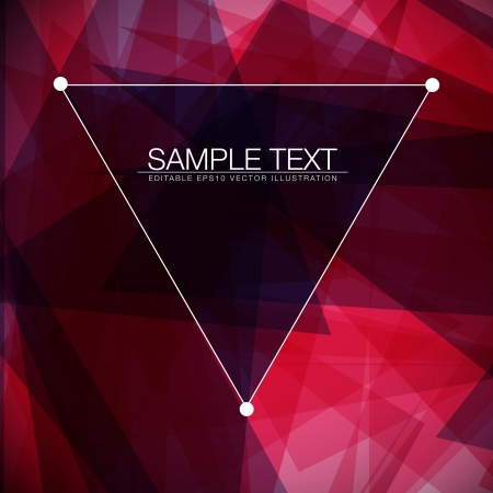 Abstract square background for Your Text Vector