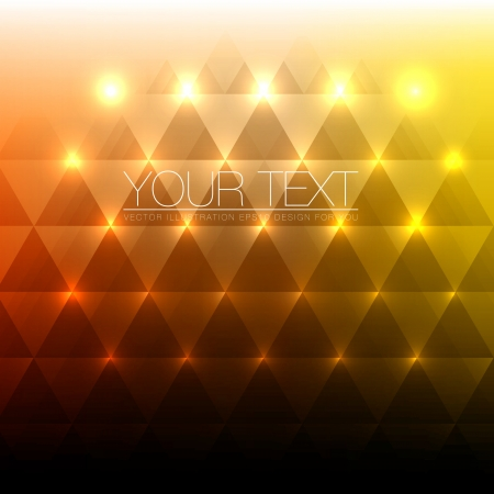 Shiny Abstract Triangles Background for Design
