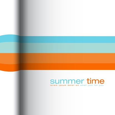 cover background time: Summer colors - abstract  background