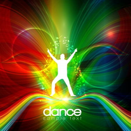 Party People   Background - Dancing You Vector