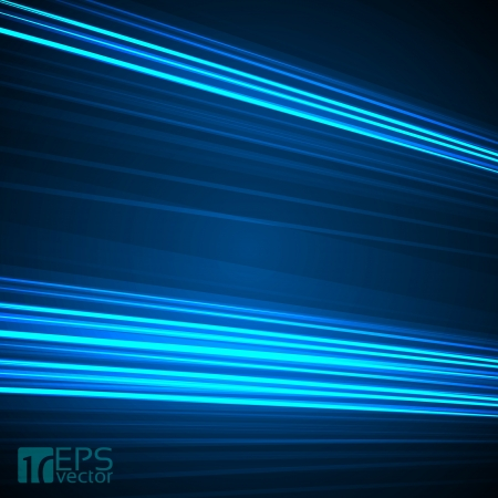 bright future: Abstract background with 3D blue lines   Illustration
