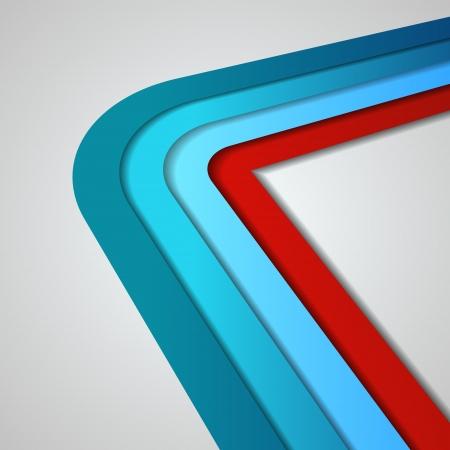 linee vettoriali: Linee vettoriali 3D in stile retr�