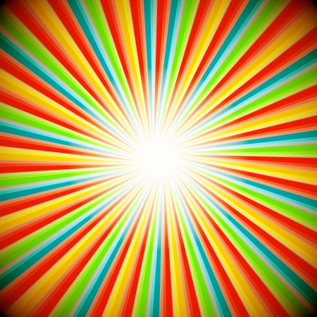 sunburst: Abstract background of star burst