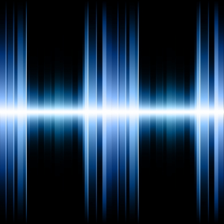 equalizer: Blue Striped Background   Illustration
