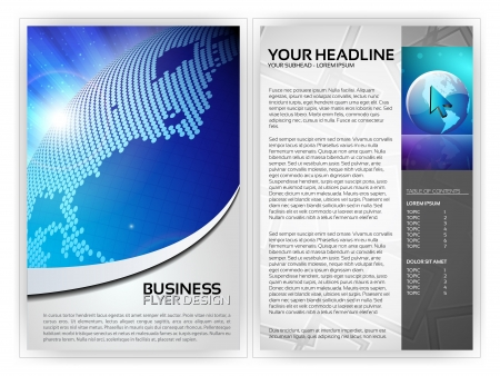 Business Flyer Template Stock Vector - 14426657