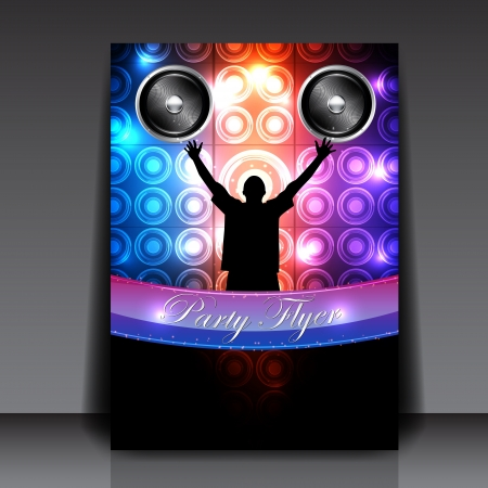 Party Flyer Design - Background Royalty Free Cliparts, Vectors ...