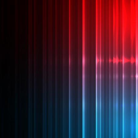 Neon abstract lines design on dark  background  Vector