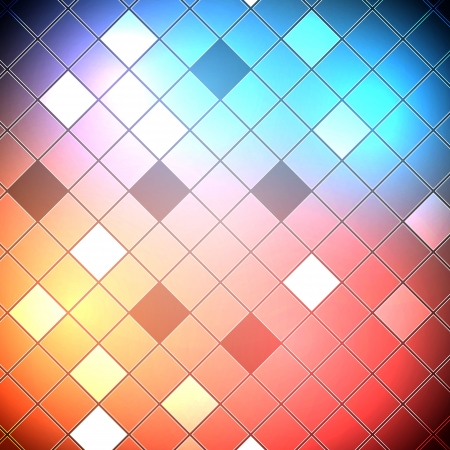 abstract geometric  squares background Vector