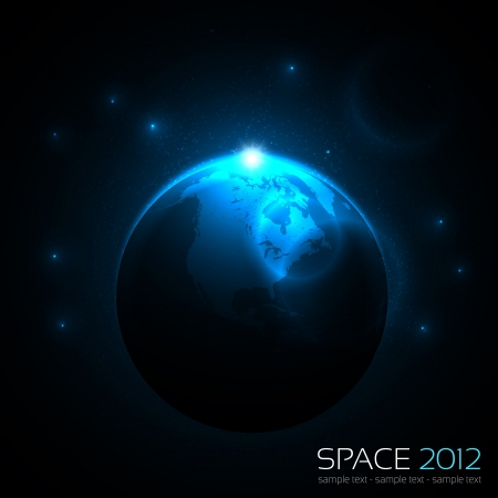 Space Background Stock Vector - 14753310