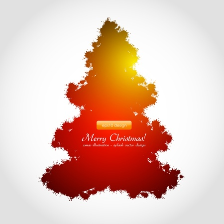 Abstract Christmas Background Stock Vector - 15282442