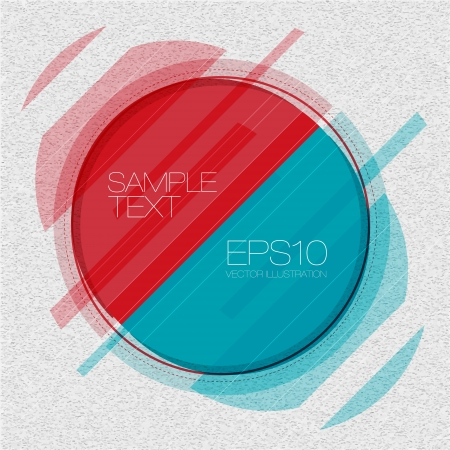 Abstract Circle Background Stock Vector - 15282793