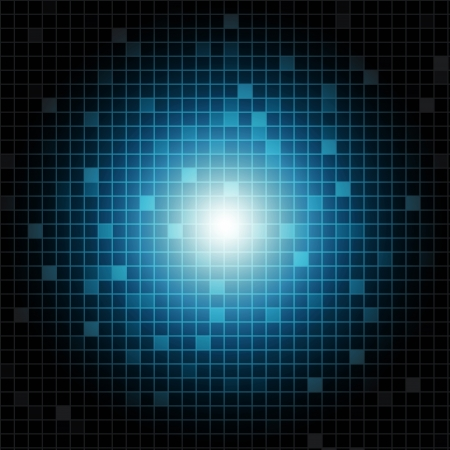blue line: Abstract shiny rectangles background