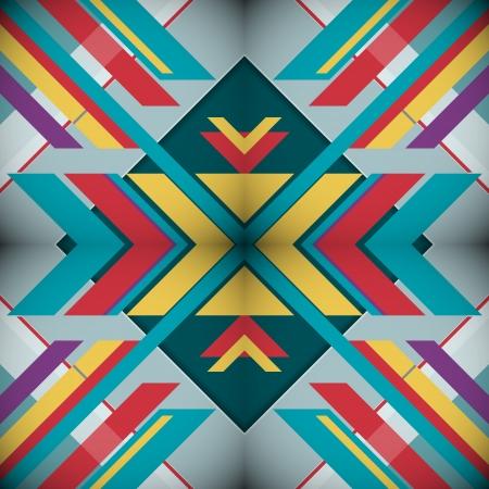 modish: Kaleidoscope Geometric Abstract background