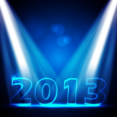 2013 New Years Eve Stock Vector - 15282675