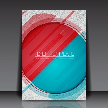Abstract Circle Flyer Design Stock Vector - 15282796