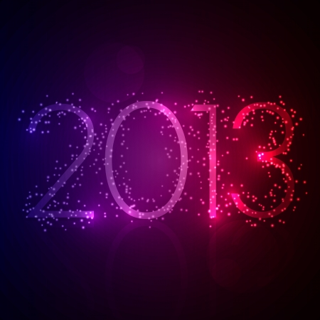 2013 Message Background Vector