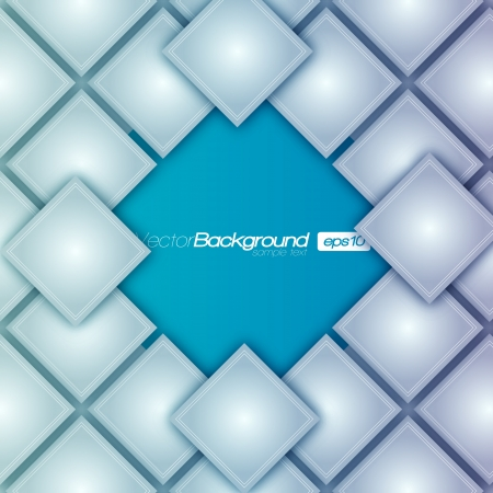 frontal: Seamless blocks structure background